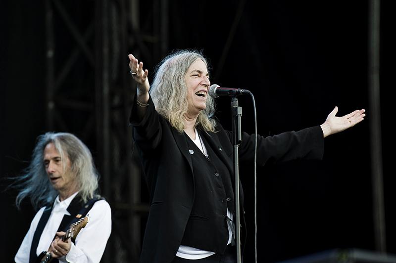 Patti Smith tocando Horses. Foto: Primavera Sound/ Eric Pamies