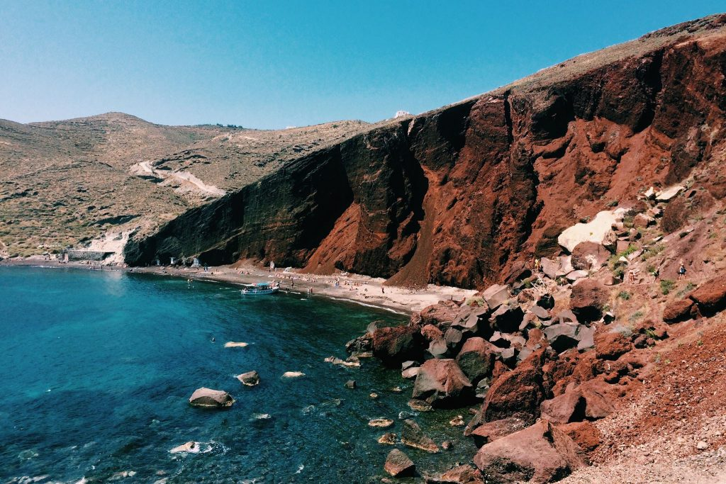 Red Beach. Santorini. Foto: Lalai Persson