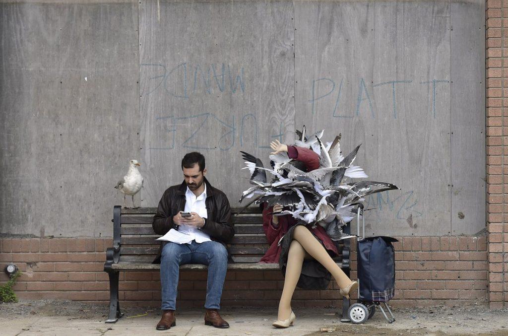 Dismaland, parque temático criado pelo Banksy