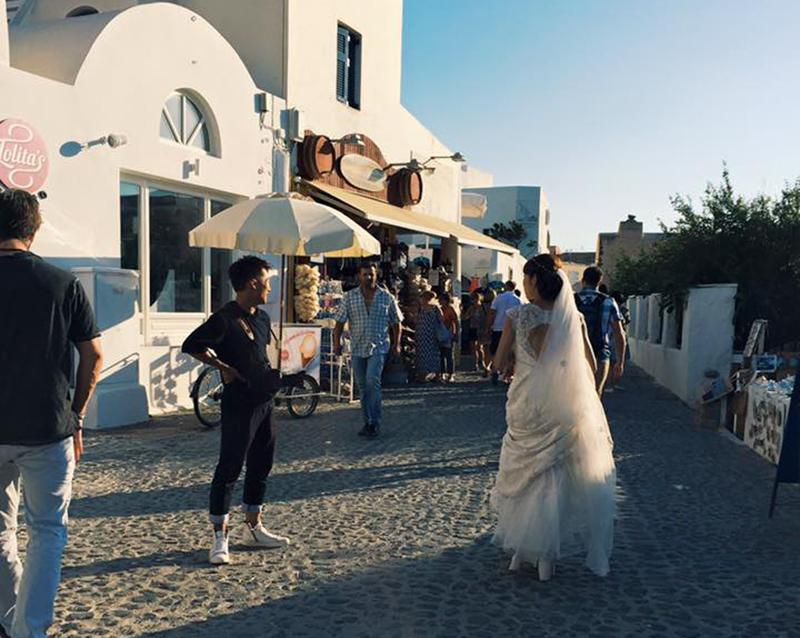 As noivas de Santorini