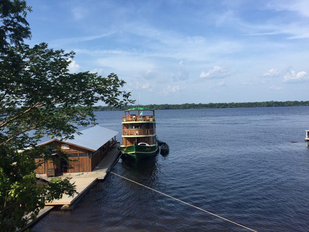 Nossa embarcação: o Jacaré Issu, a nossa deliciosa casinha por 8 dias