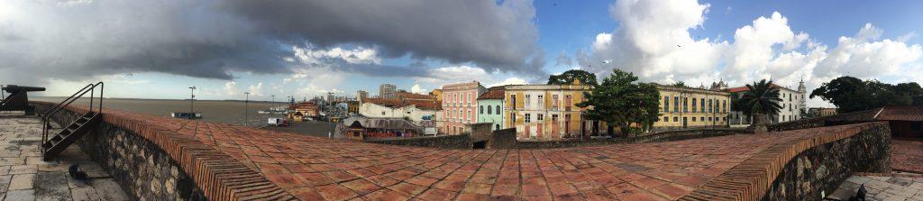 Vista panorâmica do Forte do Presépio. Foto: Kamille Viola
