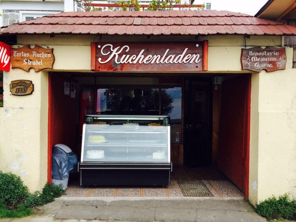 Lojas de kuchen por todos os lados