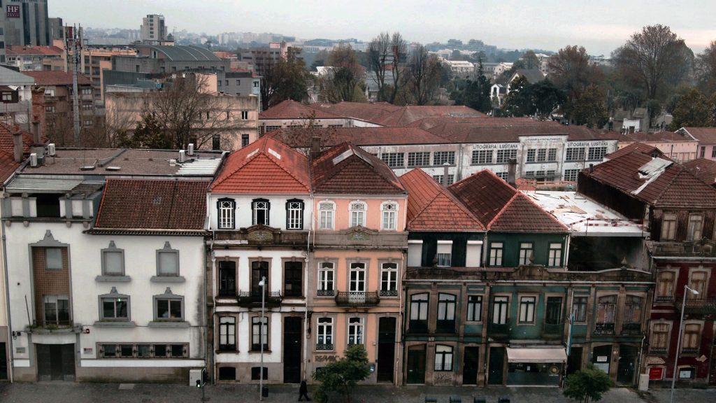 A visão do Porto de dentro da Casa - Créditos: P. Dieb