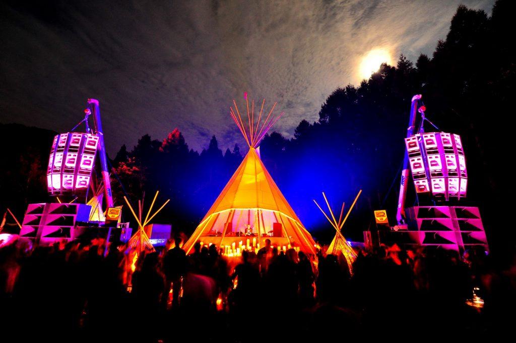 Labyrinth Festival. Foto: Festival Sherpa