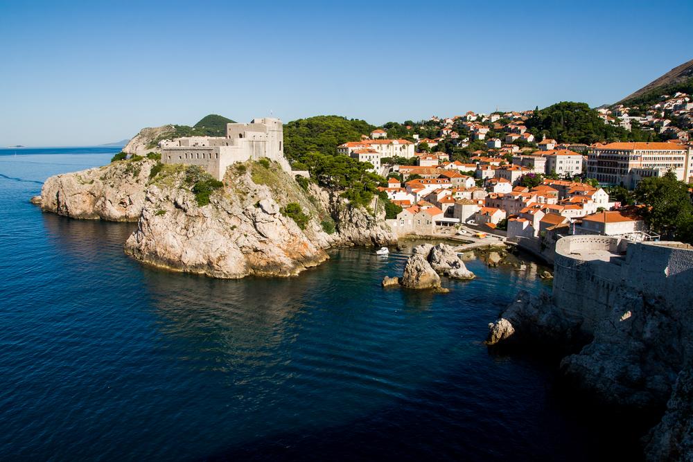 St. Lawrence Fortress em Dubrovnik, Croácia, uma das locações de Game of Thrones. Foto: Frantisek Gela / Shutterstock.com