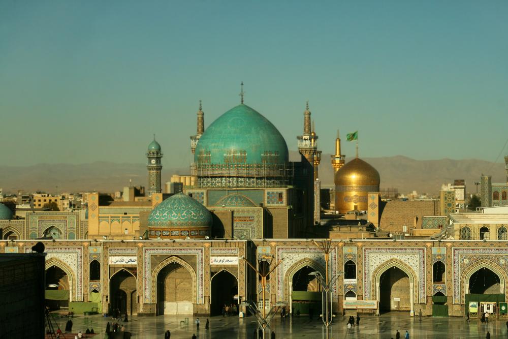 O santuário Imam Reza em Masshad, Irã. Foto: Pal Teravagimov / Shutterstock.com