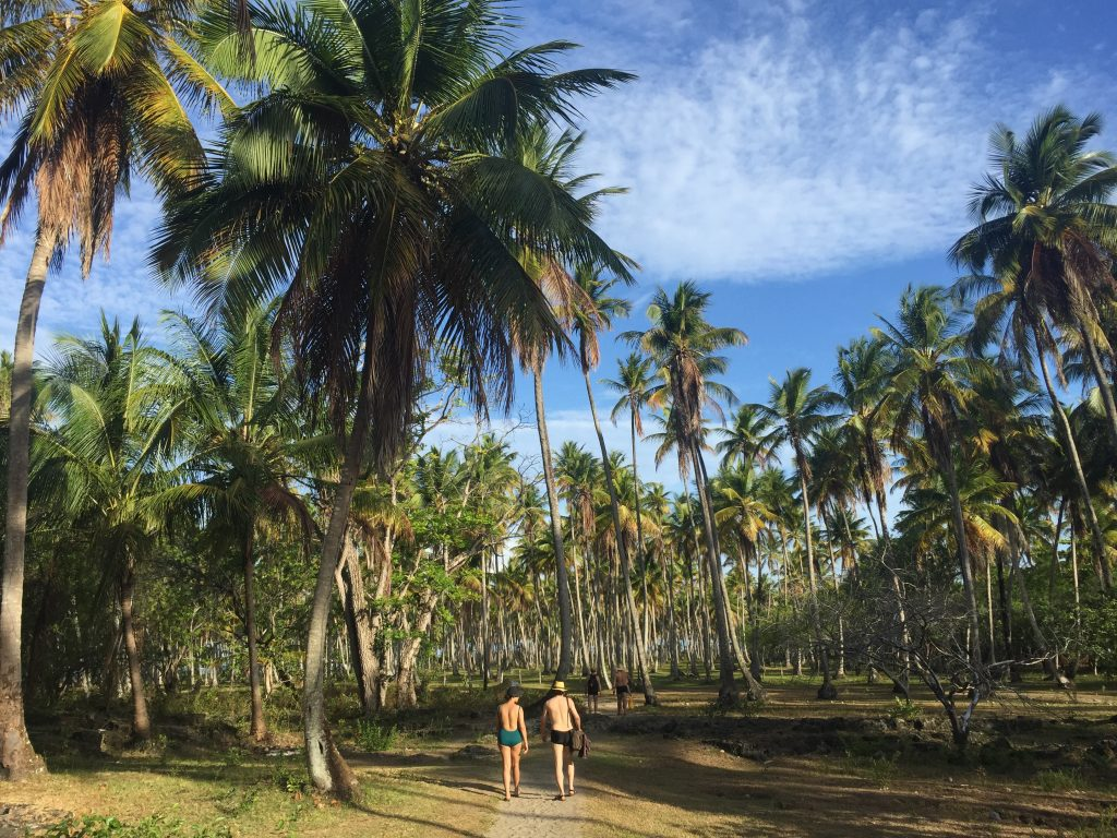 Caminhada de Moreré para Praia de Cueira. Foto: Lalai Persson