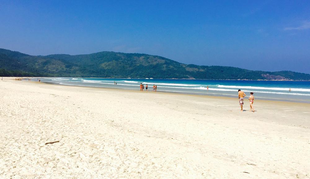 Tem praia para todo mundo em Lopes Mendes (foto: Renato Salles)