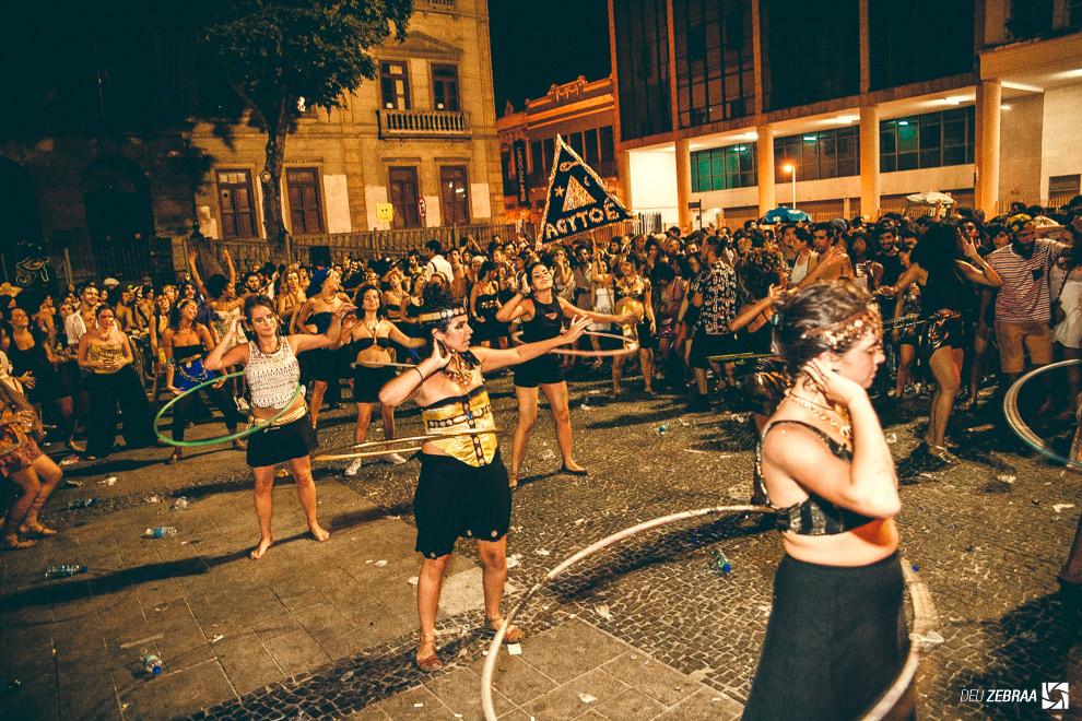 O bloco Agytoê é uma das atrações. Foto: João Viegas/Deu Zebraa