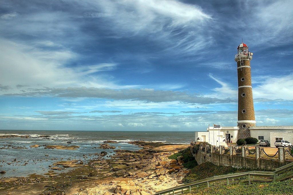 O farol da praia de José Ignácio (foto: Carlos E. Gonzalez)