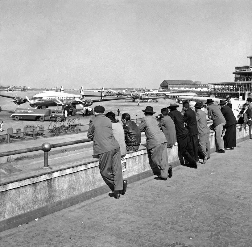 Aeroporto de Congonhas por Alice Brill - Instituto Moreira Salles (foto: divulgação)