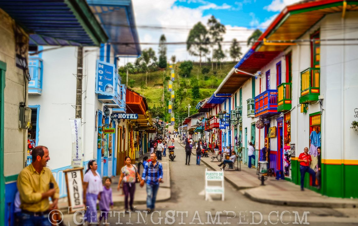 Salento Colombia - Town of Salento - City Streets-6
