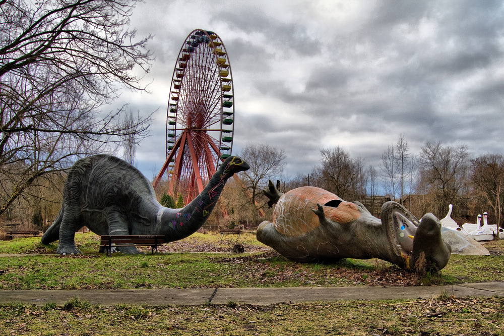 O parque de atrações abandonado Spree Park