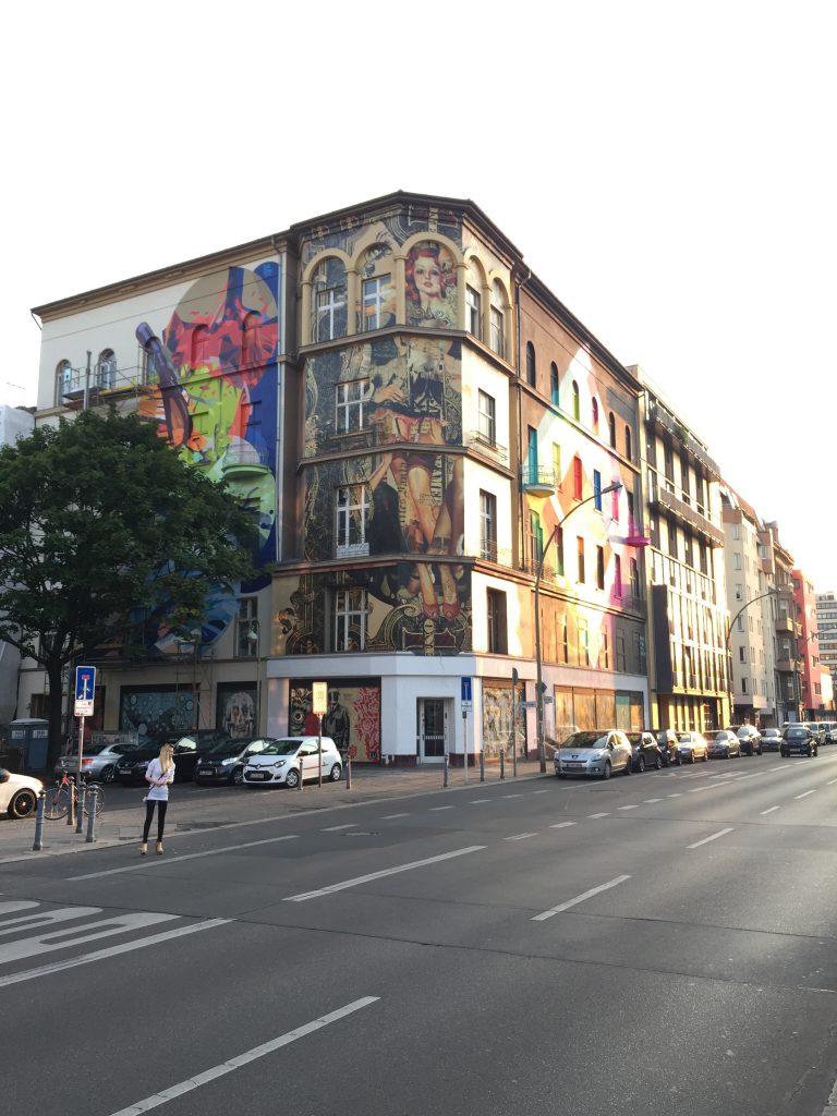 Street art na Büllowstrasse