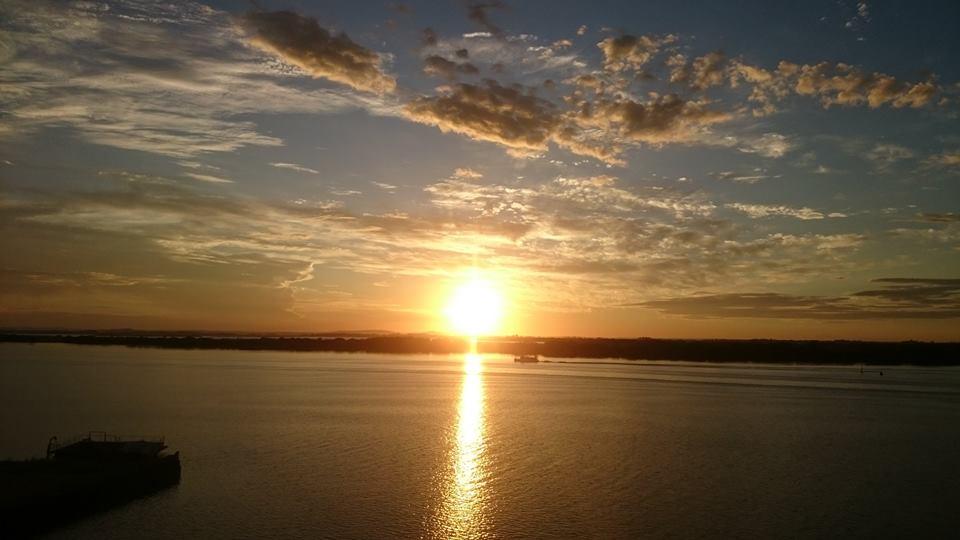 O pôr-do-sol mais famoso dos Pampas - Foto: Divulgação / Fanpage Usina do Gasômetro