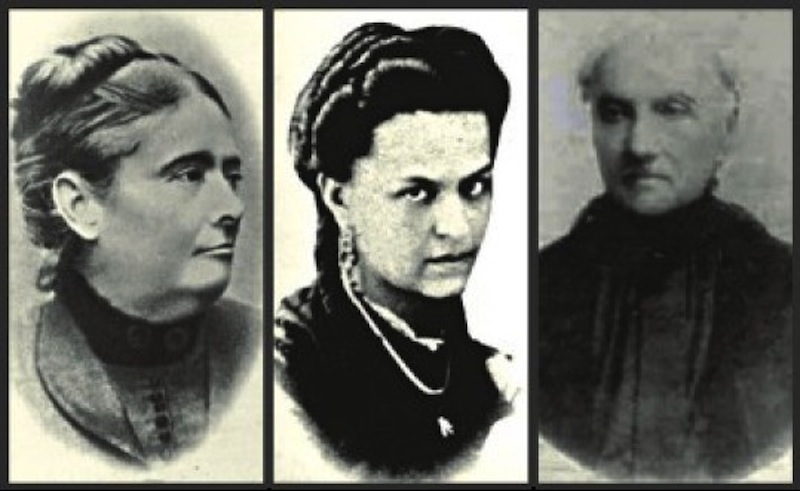 Dona Veridiana, Dona Maria Angélica e Dona Maria Antônia - Fotos: Wikipedia