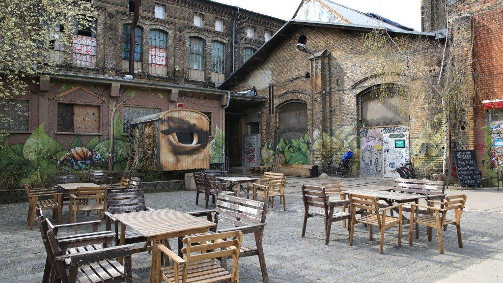 Street art ao redor da Revalerstrasse
