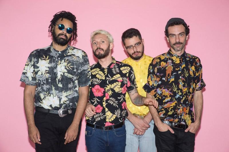 Os brasileiros Aldo The Band, que se apresentam no PrimaveraPro