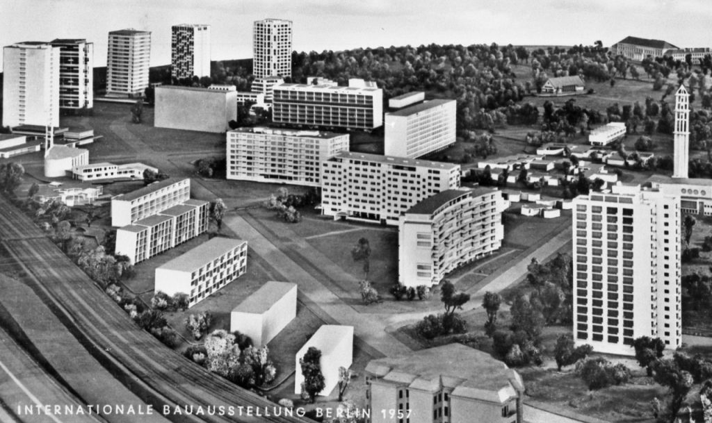 Vista panorâmica de Hansaviertel