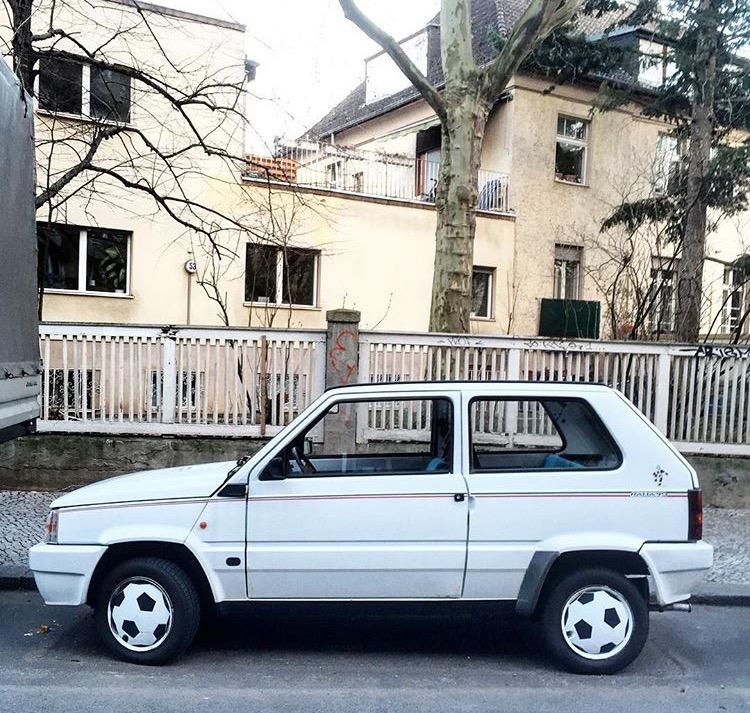 Fiat Panda - série especial para a Copa Itália'90
