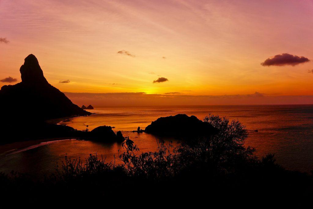 Pôr do sol em Forte dos Remédios. Foto: flickr/Leandro Macedo Gonçalves