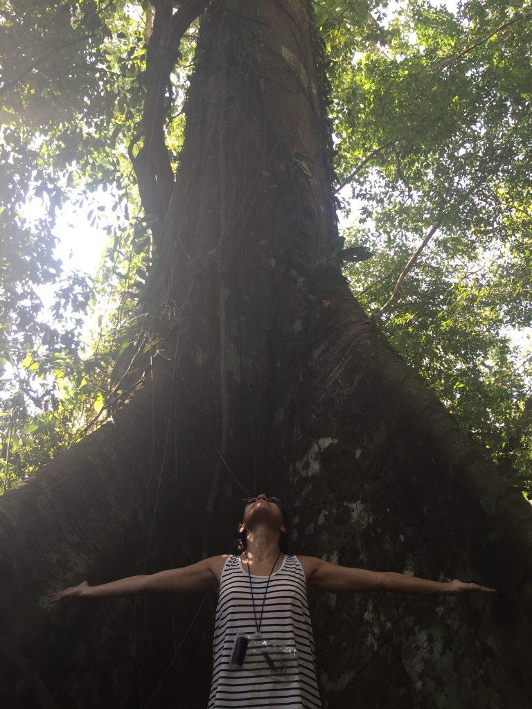 Eu no meio da Floresta de Madadá. Foto: Maihara Marjorie