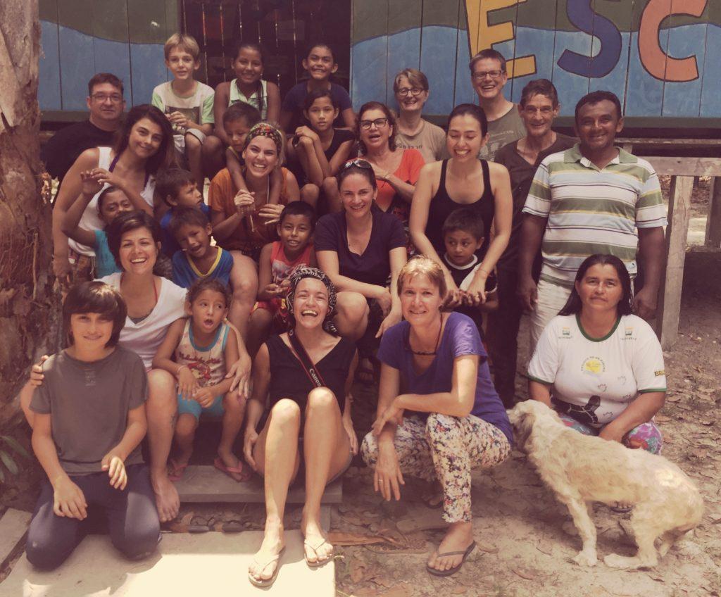A nossa visita na Escola Viva Amazônia