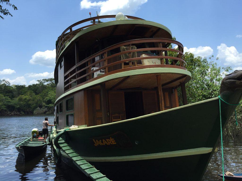 Barco Jacaré-Açu. Foto: Lalai Persson