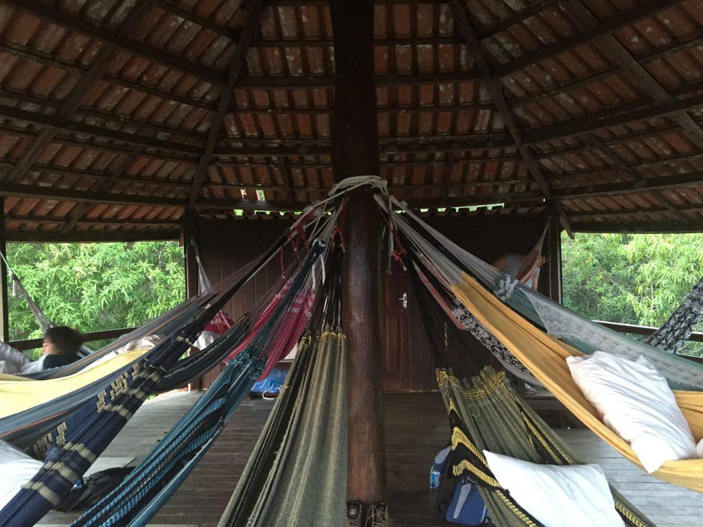 Nossa cabana na 1ª noite em Madadá. Foto: Lalai Persson