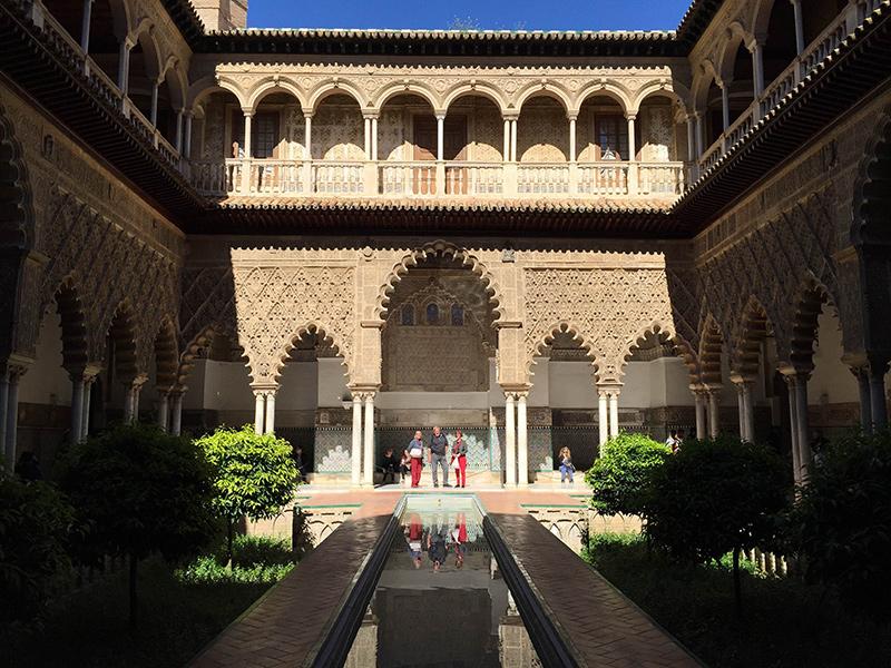 Alcazar de Sevilha...suspiros. Foto: Sarah Galvão