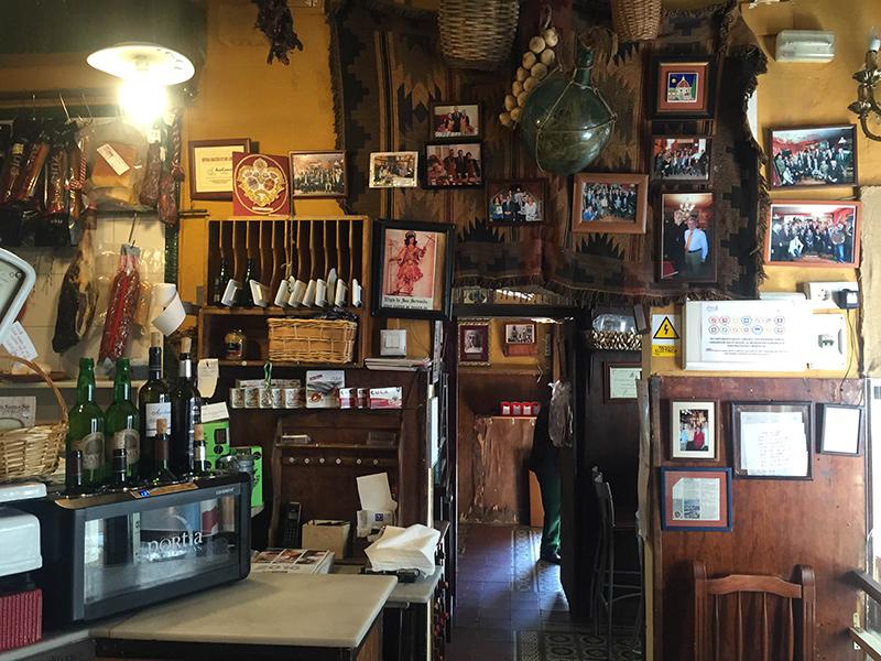 Albacerias, um armazém de antigamente. Foto: Sarah Galvão