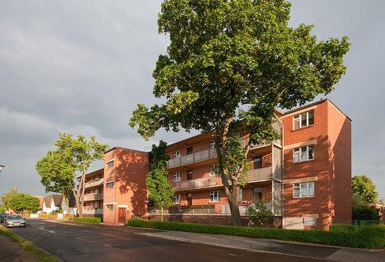 Housing with balcony. Foto: divulgação