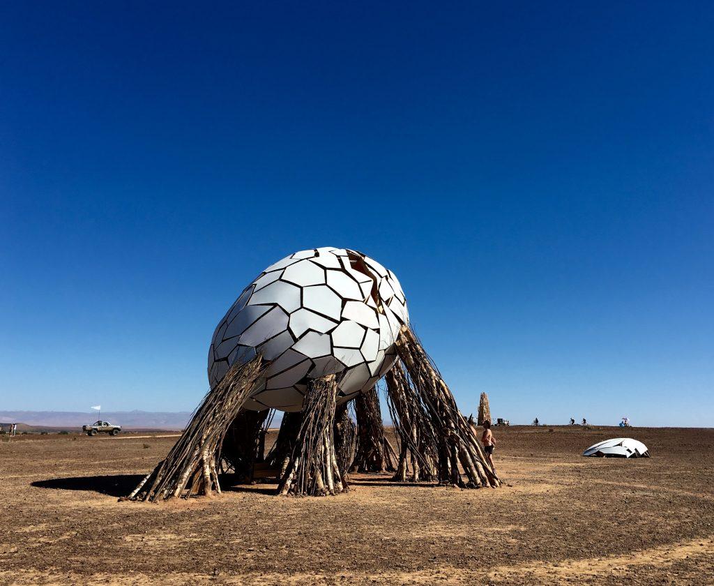 """A Playa e o """"Egg"""", uma das instalações mais bonitas"""