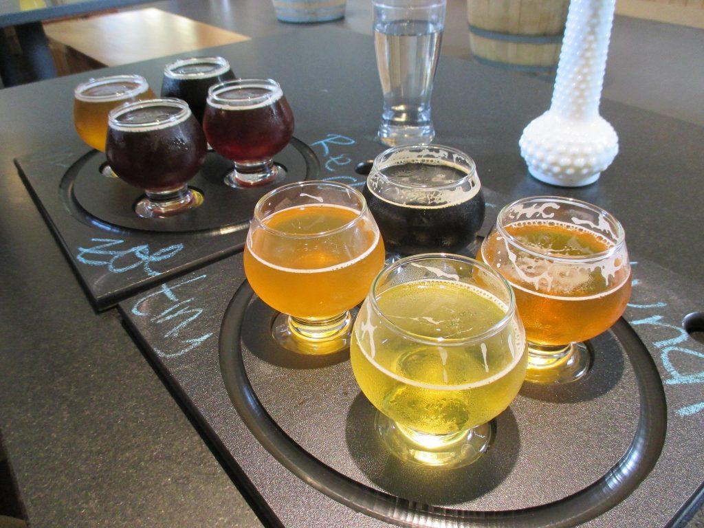 Degustação de cervejas na Maine Beer Company. Foto: Jenni Konrad