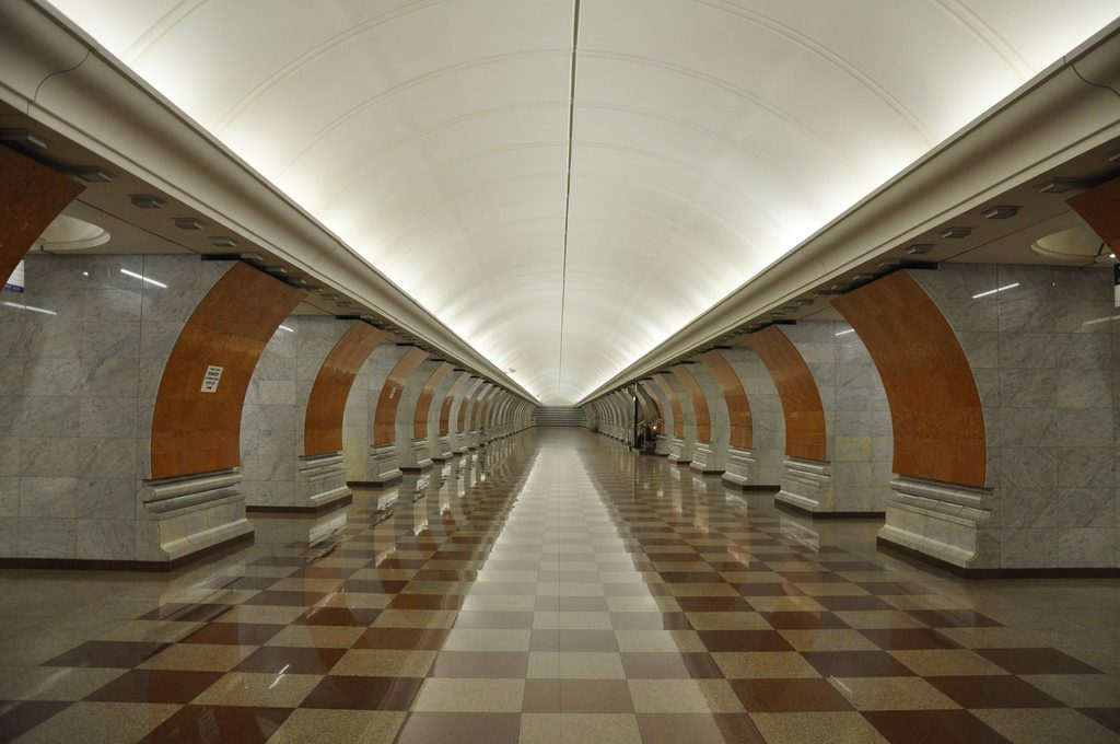 Estação Park Pobedy (foto: flickr.com/jaime.silva)