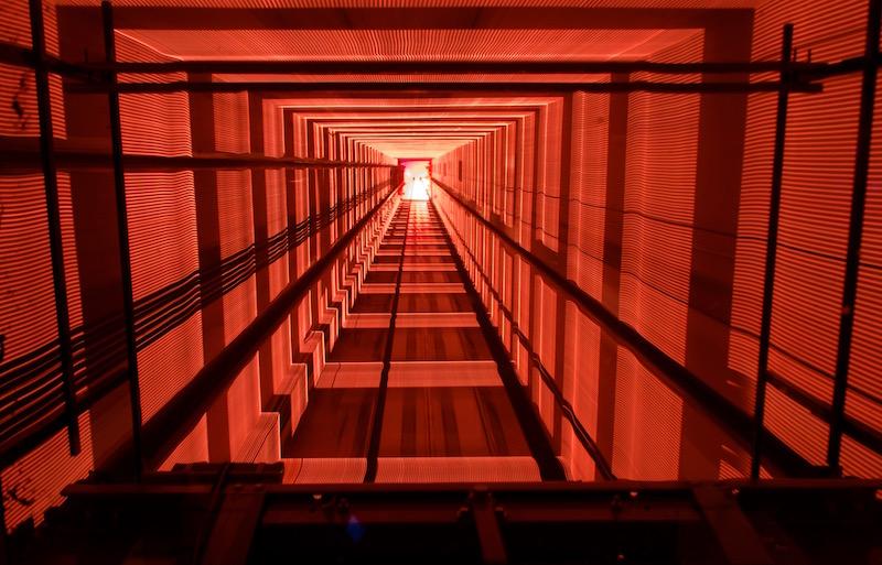O elevador vertigem