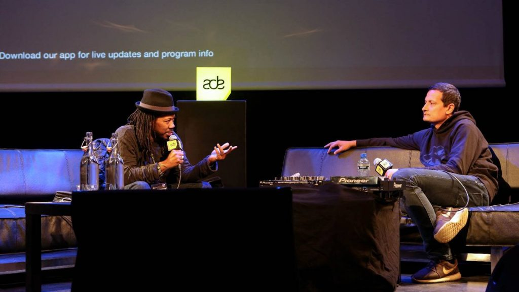 ADE Playground: Music Talks Ron Trent. Foto: Flickfeeder