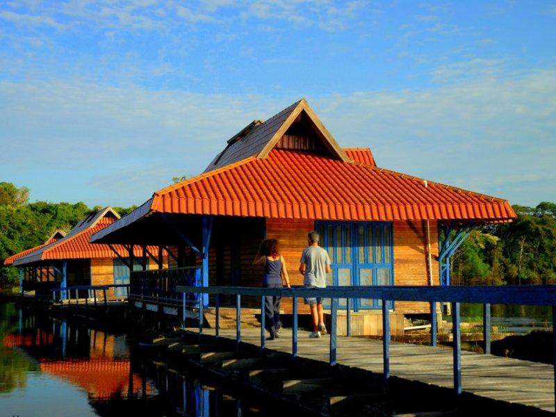 Uacari Lodge. Foto: Edu Coelho