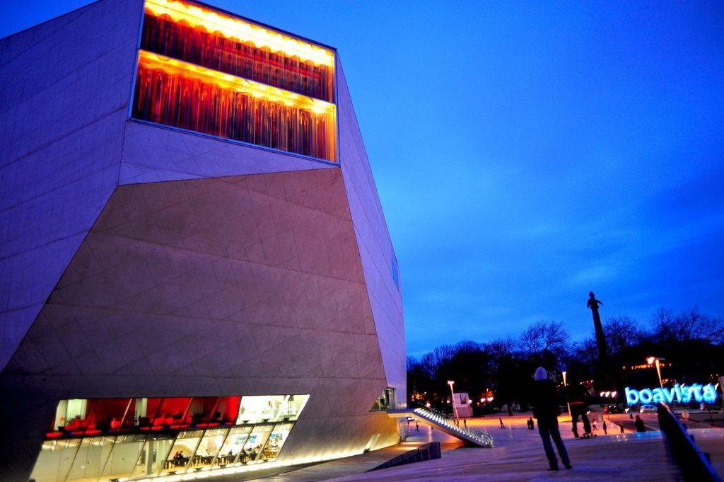 Casa da Música, Porto. Foto: Michell Zappa