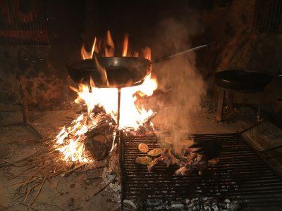 Komin open fire Croatia