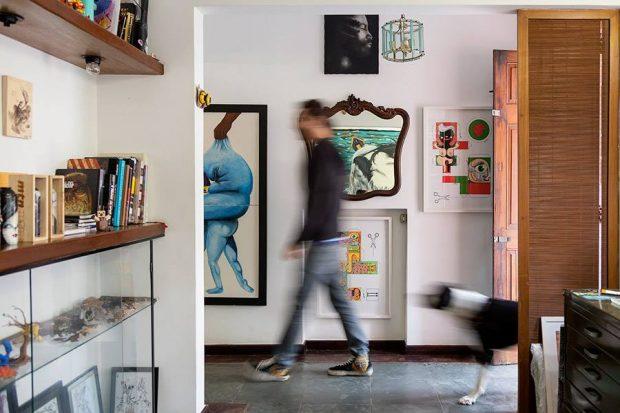 Galeria Ponder70 fica num agradável espaço no Paraíso - Divulgação