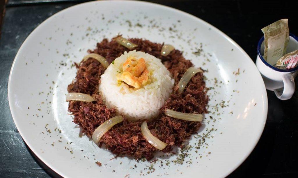 Arroz de Hauçá, prato típico da . Foto: Fabiana Cavalcanti/Divulgação