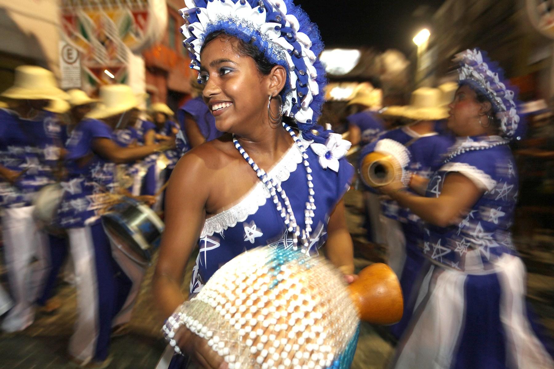 Maracatu Estrela-Brilhante do Recife. Foto: Roberta Guimarães