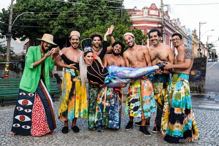 O Pirarucu Psicodélico invade a Audio Rebel na quarta-feira. Foto: Ana Carvalho