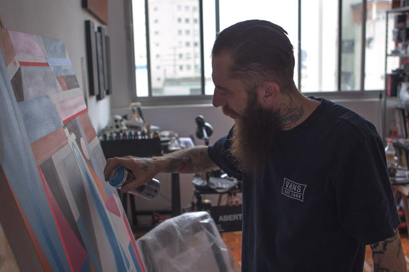 Flavio Sponto expõe na galeria da Homegrown.