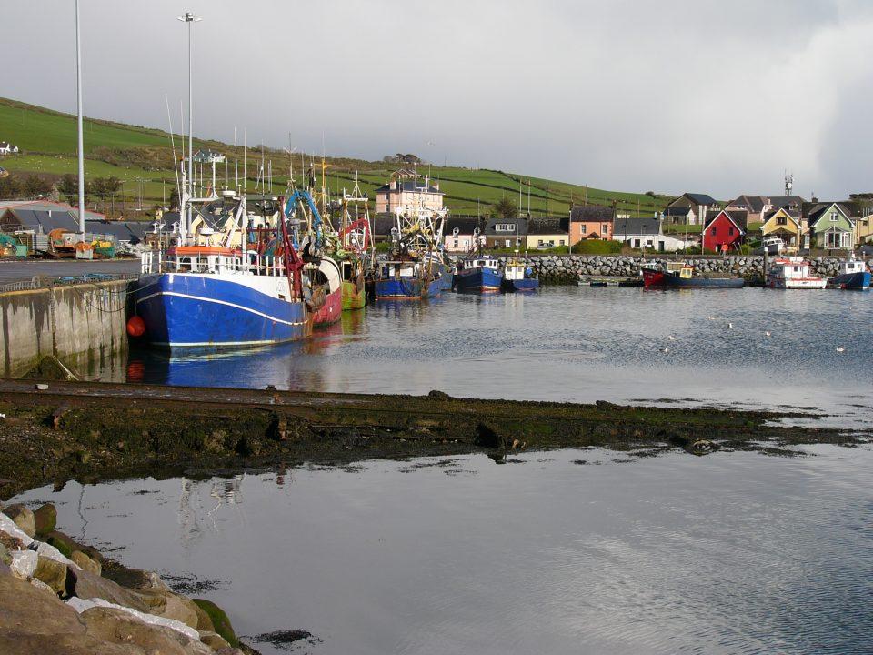 Dingle Harbour, Irlanda - foto: Kathleen Tyler Conklin [ https://goo.gl/3i6Mso ]