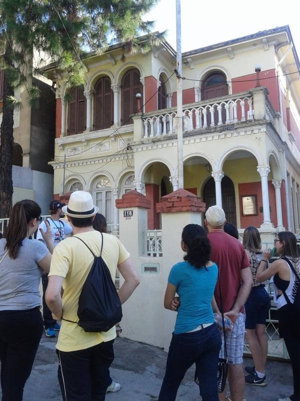 O walking tour passa por vários casarões históricos Foto: Patrícia Ribeiro/Passeios Baratos em SP
