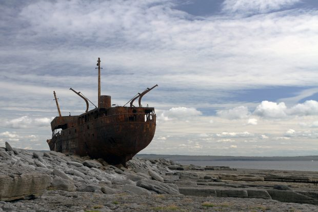 MV Plassy, Inisheer, Ireland - foto: Rich Ford [ https://goo.gl/ScbC5Q ]