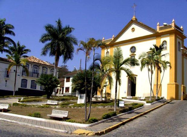 Centro Histórico de Bananal. Divulgação